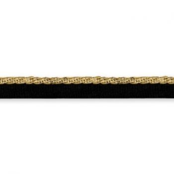 Galon biais lamé métallisé   10mm