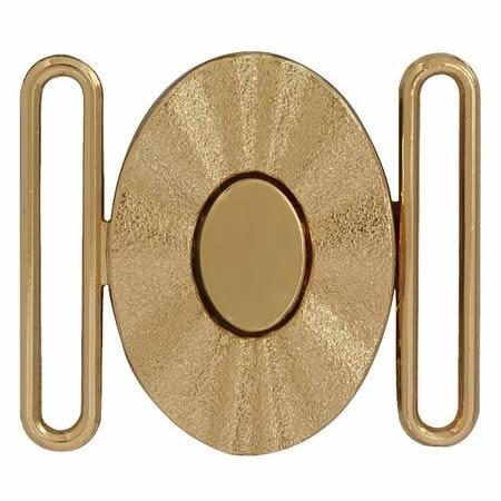 Boucle ovale métal   030mm à 060mm