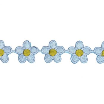 Galon fleurs thermo poly   20mm