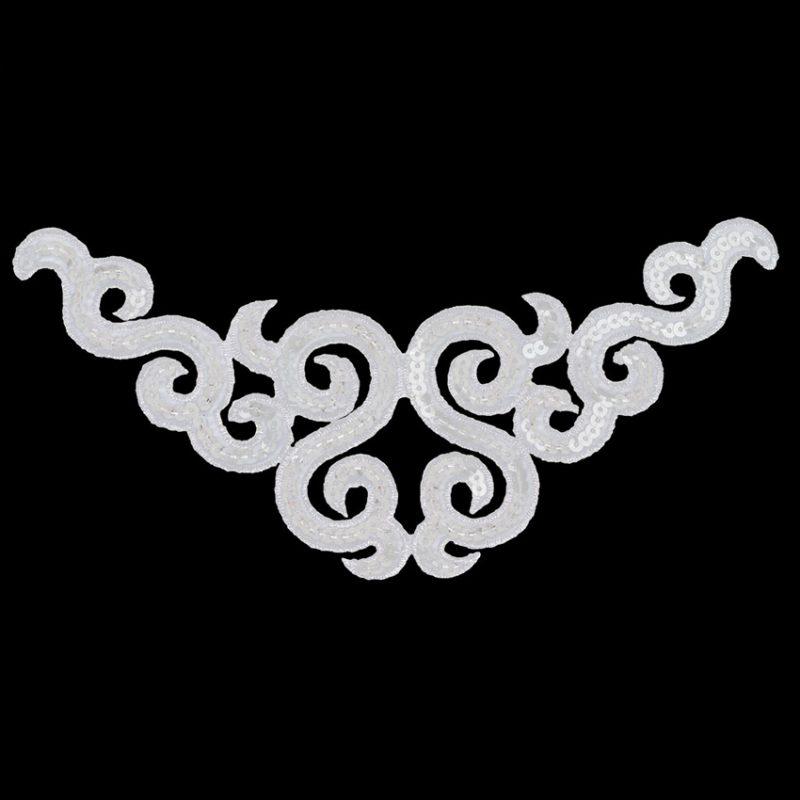Application thermo arabesque sequin