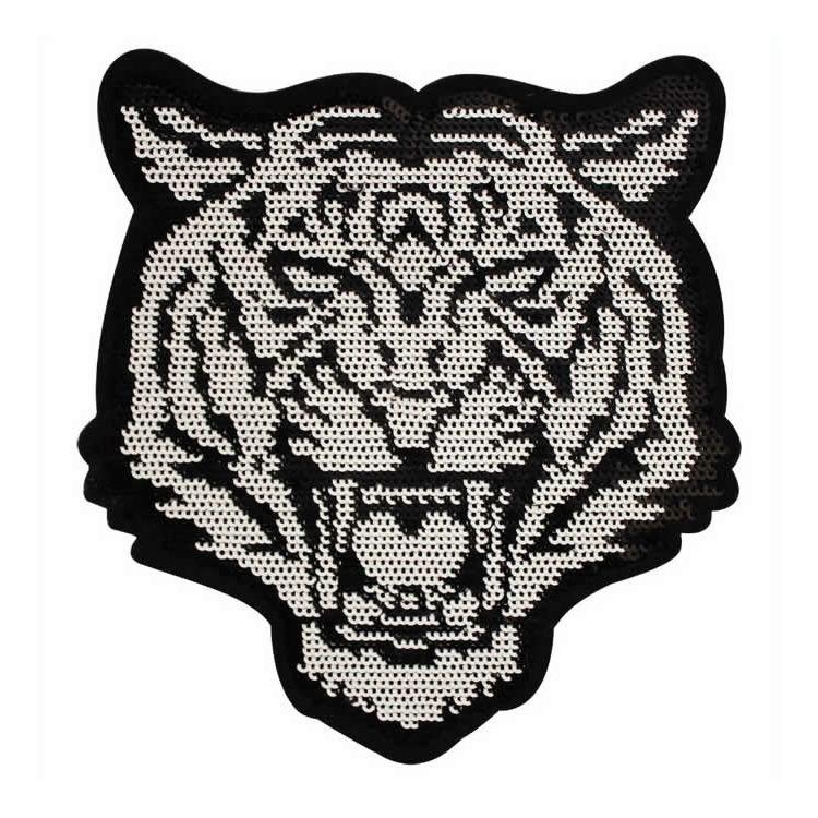Application thermo tigre paillette