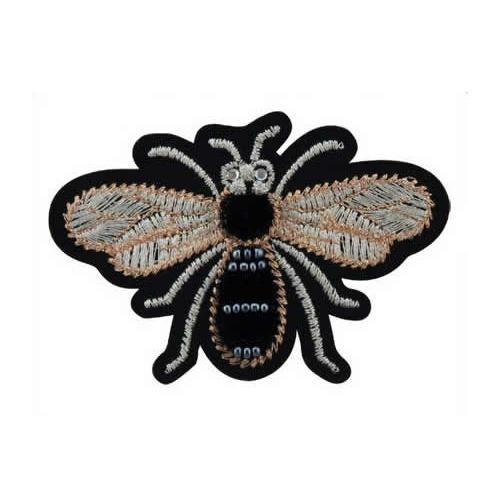 Ecusson thermo abeille & perle