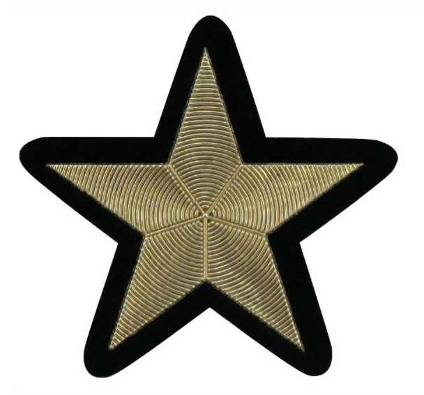 Application thermo étoile effet métallisé