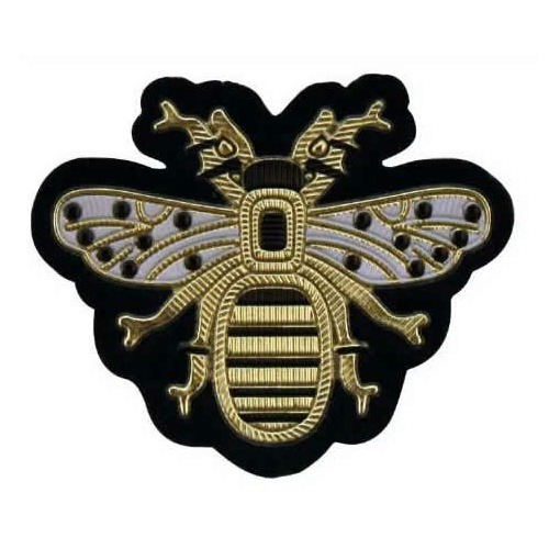 Application thermo abeille effet métallisé