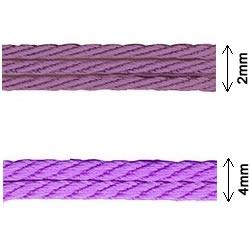 Cordon torsadé rayonne     2mm à 4mm