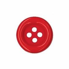 Boutons clown 4 trous nylon   23mm à 69mm