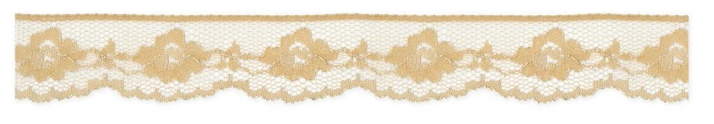 Dentelle nylon fleur 21mm