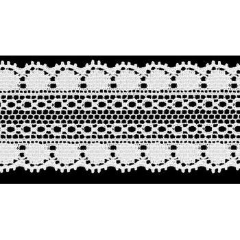 Dentelle nylon élastique   30mm