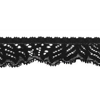 Dentelle nylon élastique   24mm