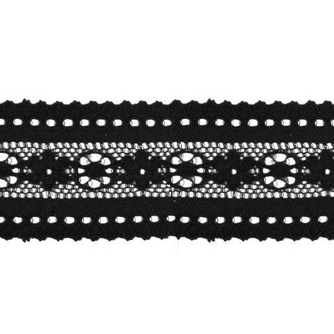 Dentelle nylon élastique   42mm
