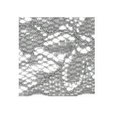 Dentelle nylon élastique   70mm