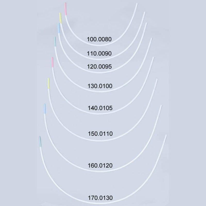 Baleine soutien-gorge acier inox nylon   80 à 130