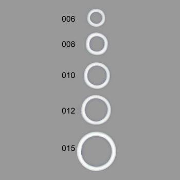 Anneaux soutien-gorge nylon   6mm à 15mm