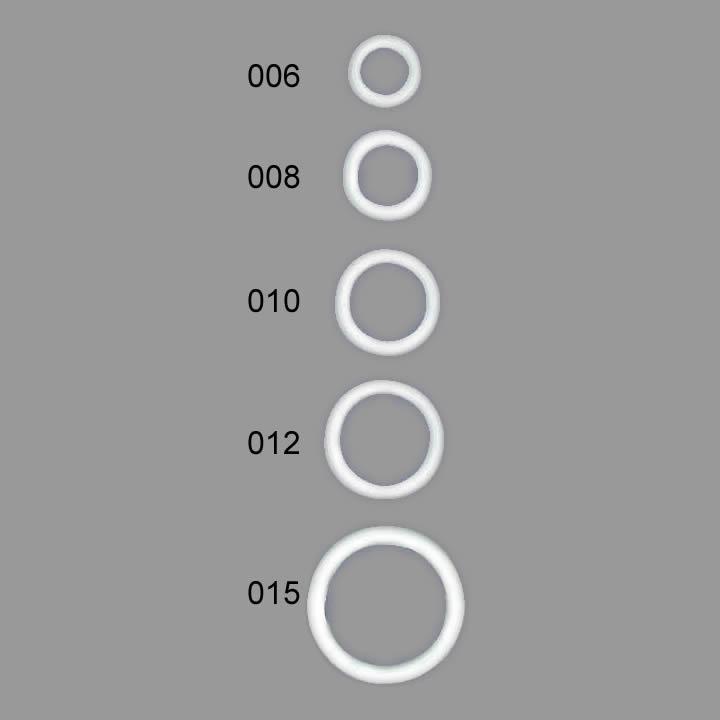 Anneaux nylon   Ø6mm à Ø15mm