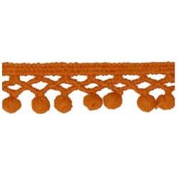 Galon pompons coton   15mm