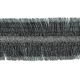 Galon franges métallisé   25mm
