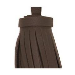 Pompons imitation cuir   60mm