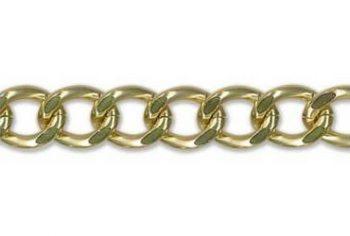 Chaine aluminium nickel free   13mm
