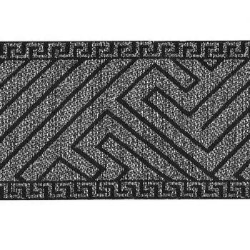 Galon motif grec metallisé    50mm à 70mm