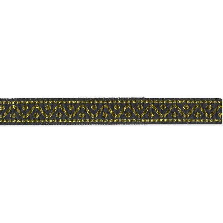 Galon motif grec métallisé    010mm