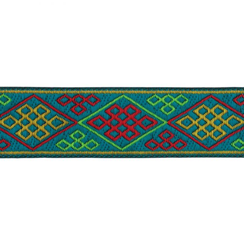 Galon motif géométrique   33mm