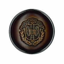 Boutons simili cuir métallisé   18mm à 30mm