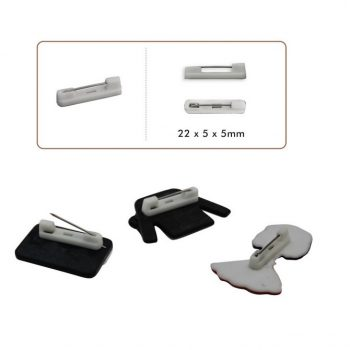 Epingle de sûreté plastique & métal   22x5x5mm