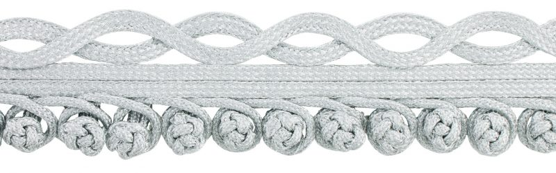 Galon passementerie lurex boutonniere  42mm