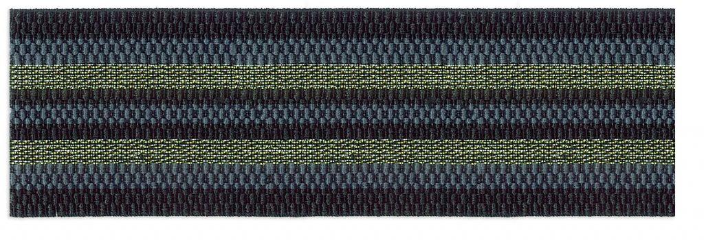 Elastique bayadère lurex 50mm