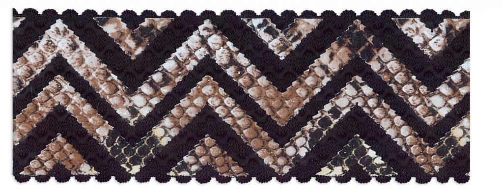Elastique peau de serpent    60mm