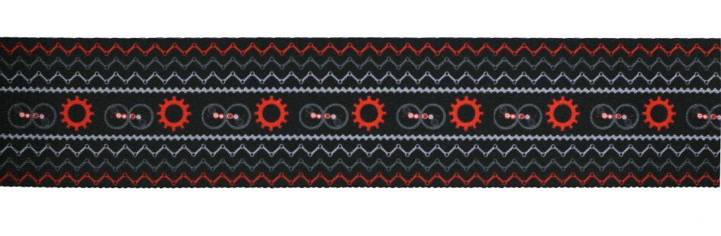 Sangle motif imprimé   25mm à 50mm