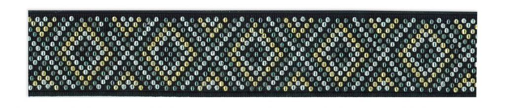 Elastique clous geometrique 030mm