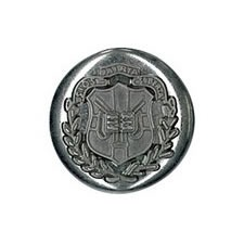 Boutons métal à pied   15mm à 25mm