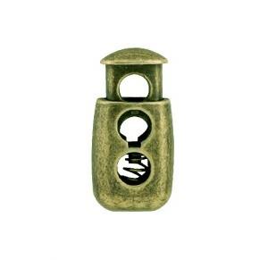 Arrêt de cordons zamak nickel free   11x22mm
