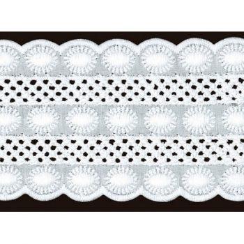 Entre deux broderie anglaise coton    52mm