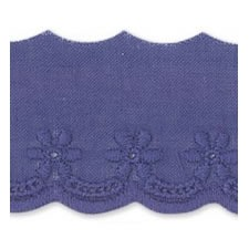 Broderie anglaise coton    30mm
