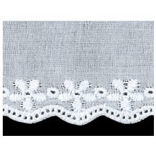 Broderie anglaise coton    38mm