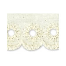 Broderie anglaise coton    45mm