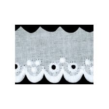 Broderie anglaise coton    29mm