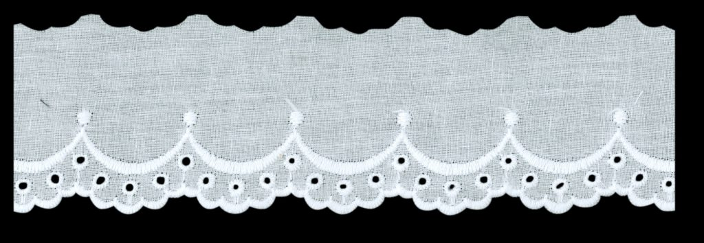 Broderie anglaise coton  25mm