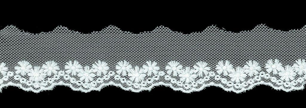 Dentelle coton nylon 18mm