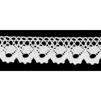 Dentelle au fuseau coton    20mm