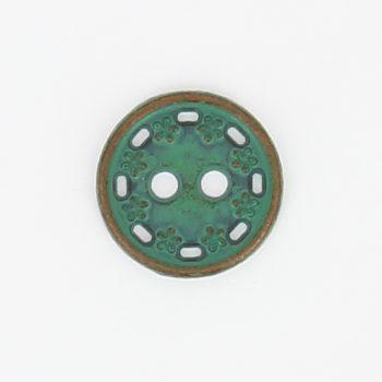Boutons métal nikel free 2 trous   11mm