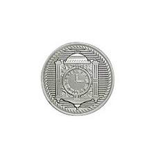 Bouton métal à pied nickel free  15mm à 20mm