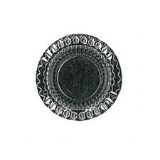 Bouton métal à pied nickel free  15mm à 23mm