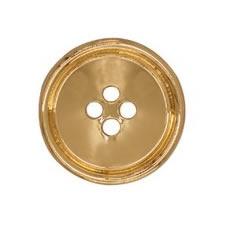 Boutons métal 4 trous nickel free   15mm à 28mm