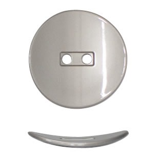 Boutons métal nikel free 2 trous   18mm à 25mm