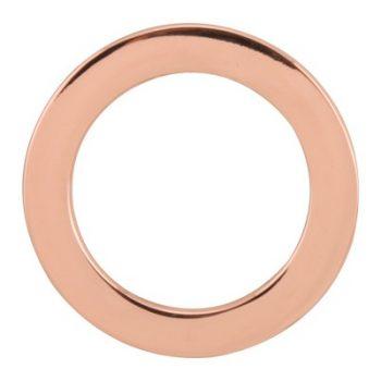 Anneaux métal nickel free   Ø24mm à Ø49mm