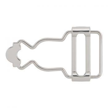 Boucle salopette nickel free   25mm à 32mm