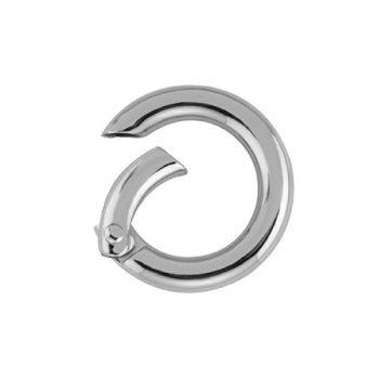 Anneaux à clip nickel free   19-29mm